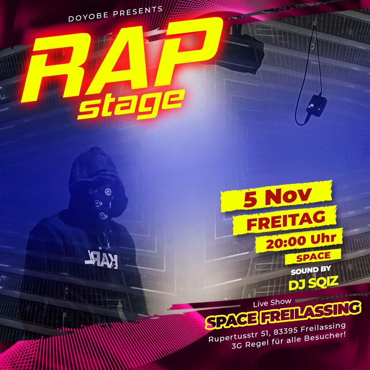 Rap Flyer